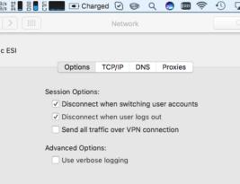 OSX Split L2TP VPN