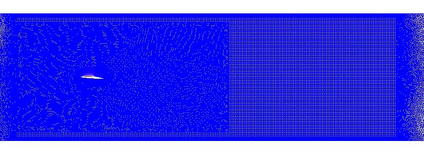 2D NACA66(MOD) Mesh