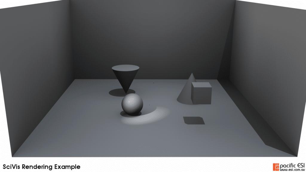 Figure 8 – 20 ambient samples, 10 samples per pixel