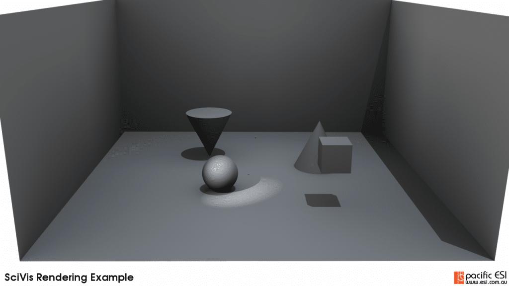 Figure 10 – 20 ambient samples, 1000 samples per pixel