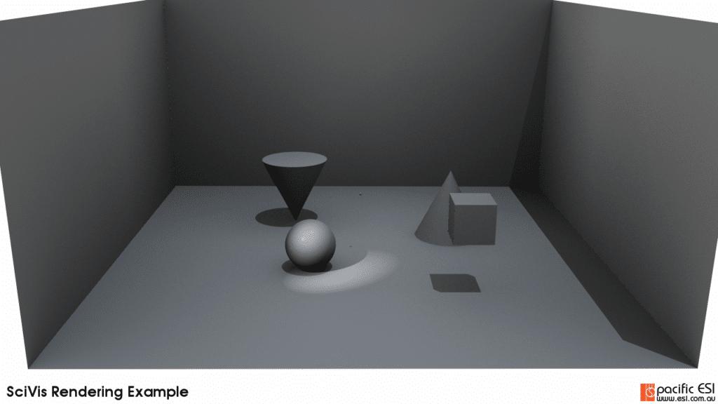 Figure 11 – 1 ambient sample, 20 sample per pixel